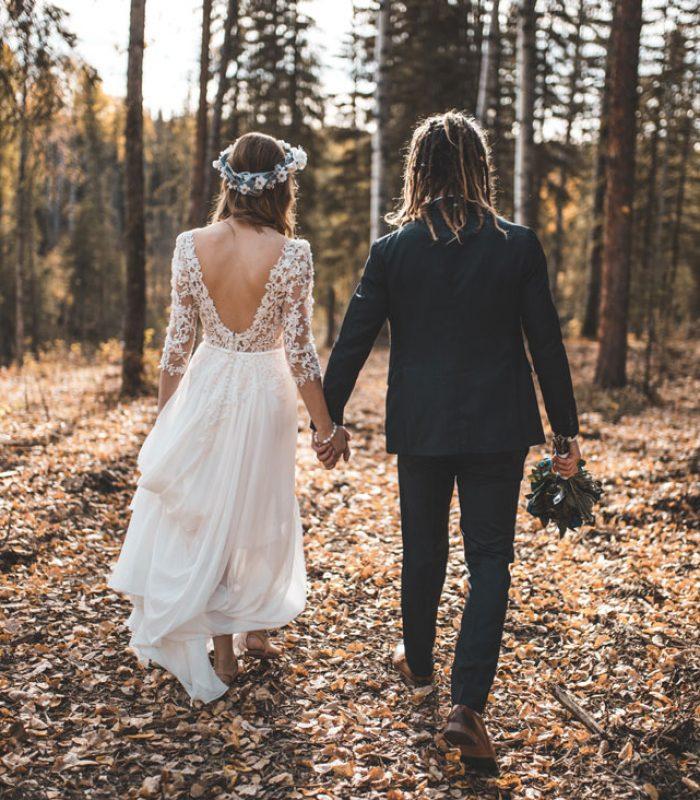 inviti nozze verde